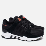 Кроссовки adidas Originals EQT Running Support Core Black/Running White фото- 1