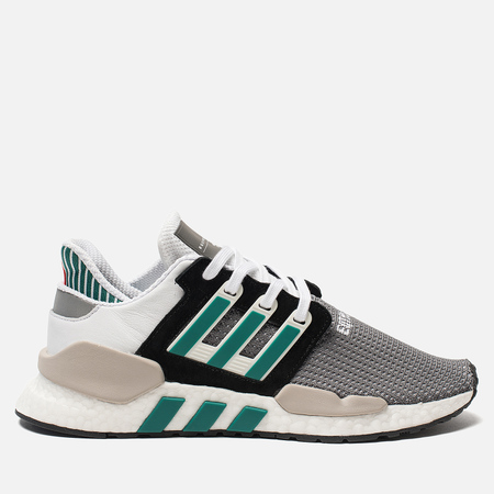 Мужские кроссовки adidas Originals EQT Support 91/18 Core Black/Clear Granite/Sub Green