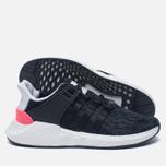 Мужские кроссовки adidas Originals EQT Support 93/17 Core Black/Core Black/Turbo фото- 1