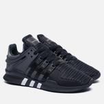 Мужские кроссовки adidas Originals EQT Support ADV Core Black/Utility Black/Solid Grey фото- 1