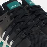 Мужские кроссовки adidas Originals EQT Support ADV Xeno Black/Green фото- 4