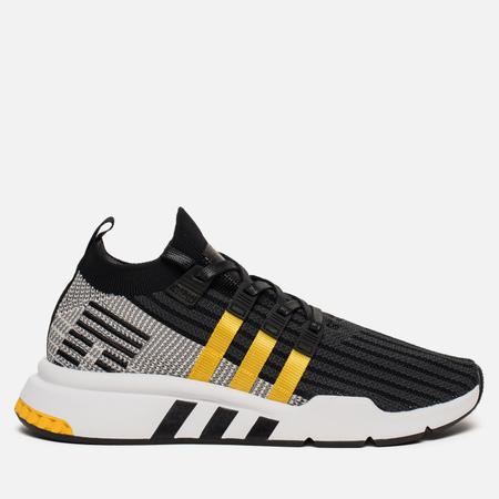 Мужские кроссовки adidas Originals EQT Support Mid ADV Core Black/Equipment Yellow/White