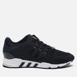 Мужские кроссовки adidas Originals EQT Support RF Core Black/Core Black/White фото- 0