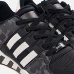 Мужские кроссовки adidas Originals EQT Support RF Core Black/Off White/Core Black фото- 3