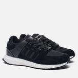 Мужские кроссовки adidas Originals EQT Support Ultra Core Black/Core Black/White фото- 2