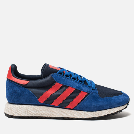 Мужские кроссовки adidas Originals Forest Grove Power Blue/High Resolution Red/Collegiate Navy