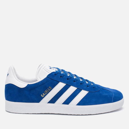 Кроссовки adidas Originals Gazelle Collegiate Royal/White/Gold Metallic