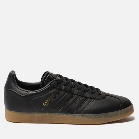364a7de81acb Мужские кроссовки adidas Originals Gazelle Core Black Core Black Gum