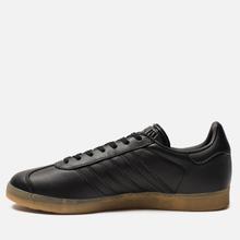 Мужские кроссовки adidas Originals Gazelle Core Black/Core Black/Gum фото- 5