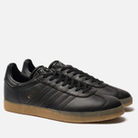Мужские кроссовки adidas Originals Gazelle Core Black/Core Black/Gum фото- 2