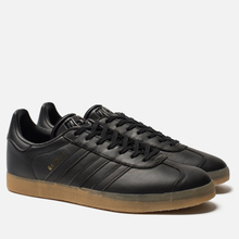 Мужские кроссовки adidas Originals Gazelle Core Black/Core Black/Gum фото- 0
