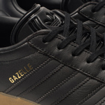 Мужские кроссовки adidas Originals Gazelle Core Black/Core Black/Gum фото- 6