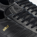 Мужские кроссовки adidas Originals Gazelle Core Black/Gold Met фото- 4