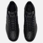 Мужские кроссовки adidas Originals Gazelle Core Black/Gold Met фото- 3