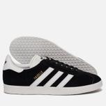 Кроссовки adidas Originals Gazelle Black/White/Gold Metallic фото- 2