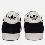 Кроссовки adidas Originals Gazelle Black/White/Gold Metallic фото- 3