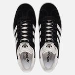 Кроссовки adidas Originals Gazelle Black/White/Gold Metallic фото- 4