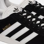 Кроссовки adidas Originals Gazelle Black/White/Gold Metallic фото- 5