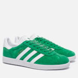 Кроссовки adidas Originals Gazelle Green/White/Gold Metallic фото- 2