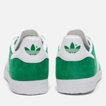 Кроссовки adidas Originals Gazelle Green/White/Gold Metallic фото- 3