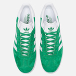 Кроссовки adidas Originals Gazelle Green/White/Gold Metallic фото- 4
