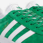 Кроссовки adidas Originals Gazelle Green/White/Gold Metallic фото- 5