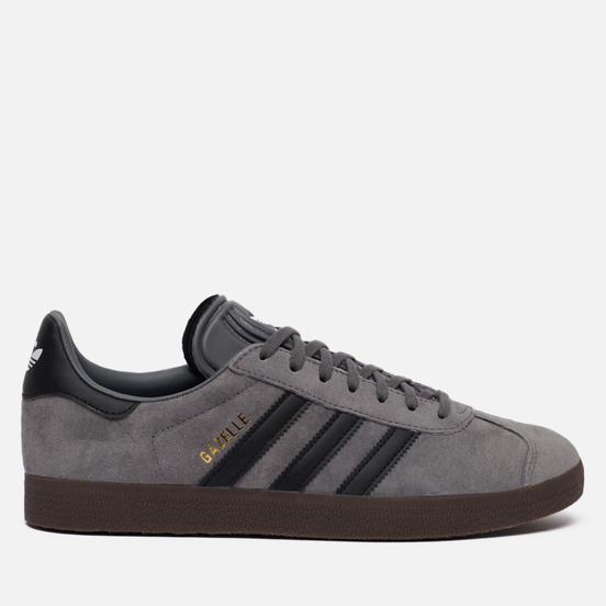 Мужские кроссовки adidas Originals Gazelle Grey/Core Black/Gum