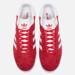 Кроссовки adidas Originals Gazelle Red/White/Gold Metallic фото- 4