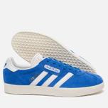 Мужские кроссовки adidas Originals Gazelle Super Blue/White/Gold Metallic фото- 1