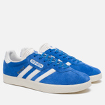 Мужские кроссовки adidas Originals Gazelle Super Blue/White/Gold Metallic фото- 2