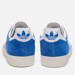 Мужские кроссовки adidas Originals Gazelle Super Blue/White/Gold Metallic фото- 3