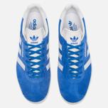 Мужские кроссовки adidas Originals Gazelle Super Blue/White/Gold Metallic фото- 4
