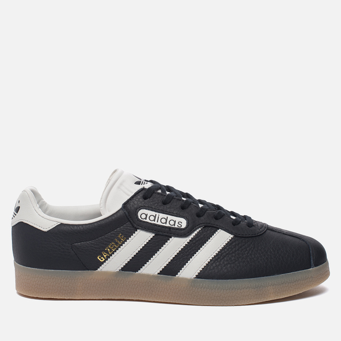 Мужские кроссовки adidas Originals Gazelle Super Core Black/Vintage White/Gum