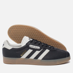 Мужские кроссовки adidas Originals Gazelle Super Core Black/Vintage White/Gum фото- 1