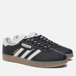 Мужские кроссовки adidas Originals Gazelle Super Core Black/Vintage White/Gum фото- 2