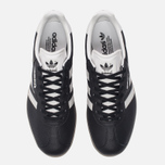 Мужские кроссовки adidas Originals Gazelle Super Core Black/Vintage White/Gum фото- 4