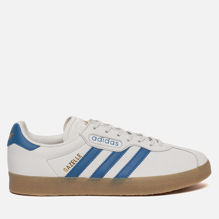 Мужские кроссовки adidas Originals Gazelle Super Crystal White/Trace Blue/White