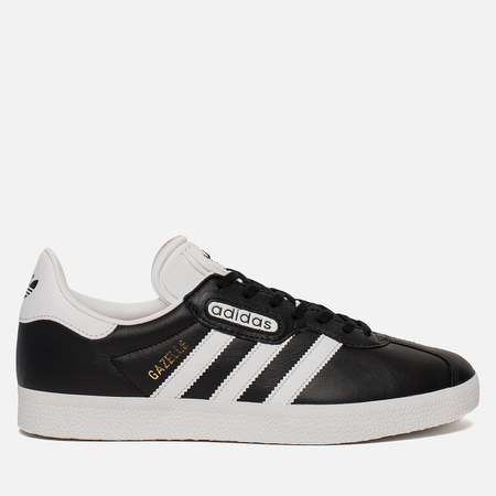 Мужские кроссовки adidas Originals Gazelle Super Essen Core Black/White/Crystal White