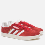 Мужские кроссовки adidas Originals Gazelle Super Red/White/Gold Metallic фото- 1