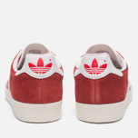 Мужские кроссовки adidas Originals Gazelle Super Red/White/Gold Metallic фото- 6