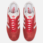 Мужские кроссовки adidas Originals Gazelle Super Red/White/Gold Metallic фото- 5