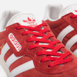 Мужские кроссовки adidas Originals Gazelle Super Red/White/Gold Metallic фото- 3