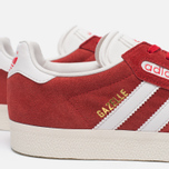 Мужские кроссовки adidas Originals Gazelle Super Red/White/Gold Metallic фото- 4