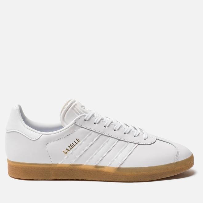 Мужские кроссовки adidas Originals Gazelle White/White/Gum
