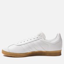 Мужские кроссовки adidas Originals Gazelle White/White/Gum фото- 1