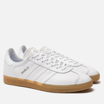 Мужские кроссовки adidas Originals Gazelle White/White/Gum фото- 2