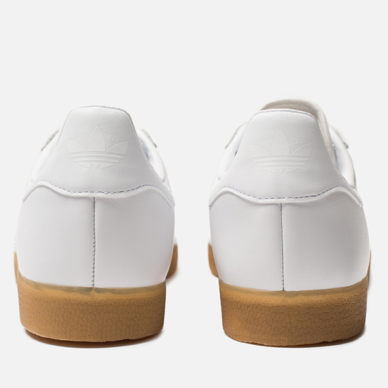 Мужские кроссовки adidas Originals Gazelle White/White/Gum