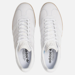 Мужские кроссовки adidas Originals Gazelle White/White/Gum фото- 5