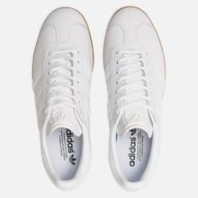 Мужские кроссовки adidas Originals Gazelle White/White/Gum фото- 5
