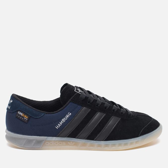 Мужские кроссовки adidas Originals Hamburg Tech Core Black/Chalk White